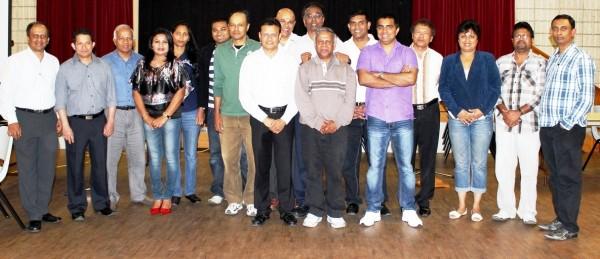 SCF 2013 committee